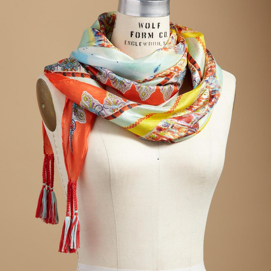 SUMMER SEAS SCARF