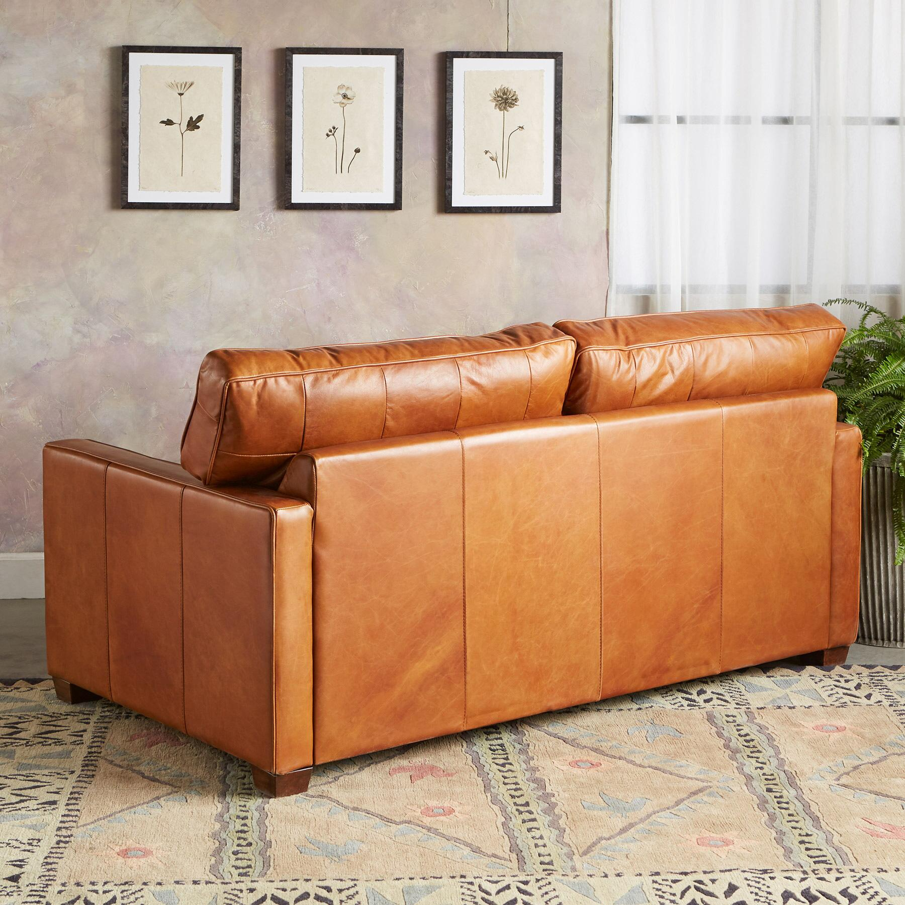 OAKVILLE LEATHER SOFA: View 2