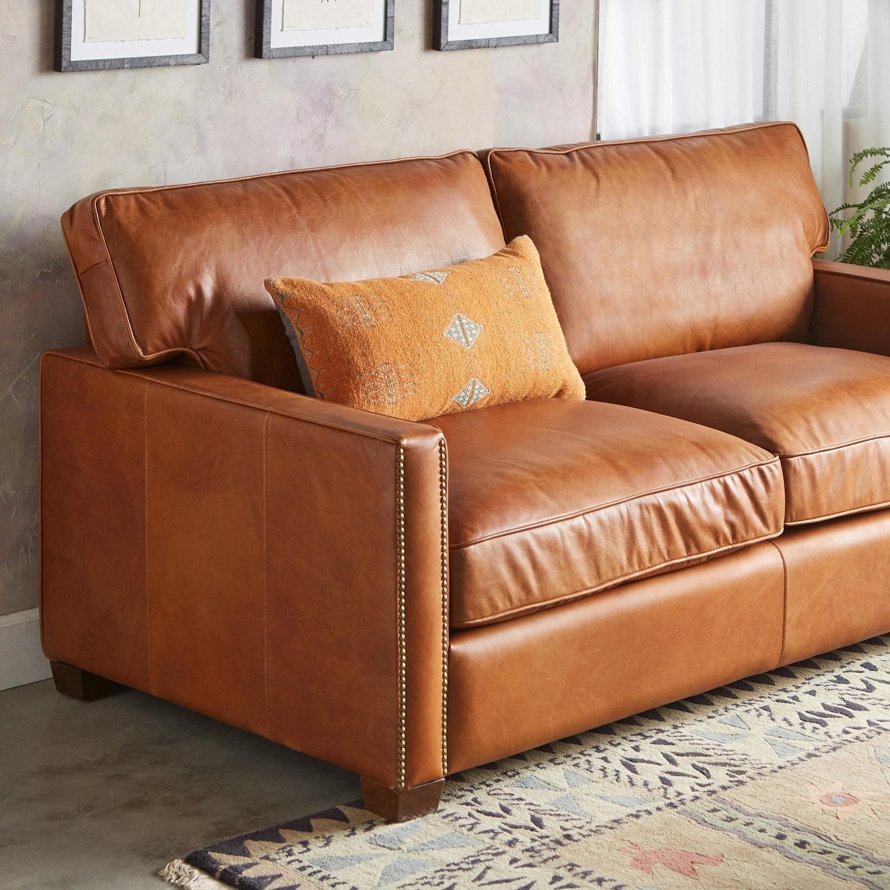 OAKVILLE LEATHER SOFA: View 3