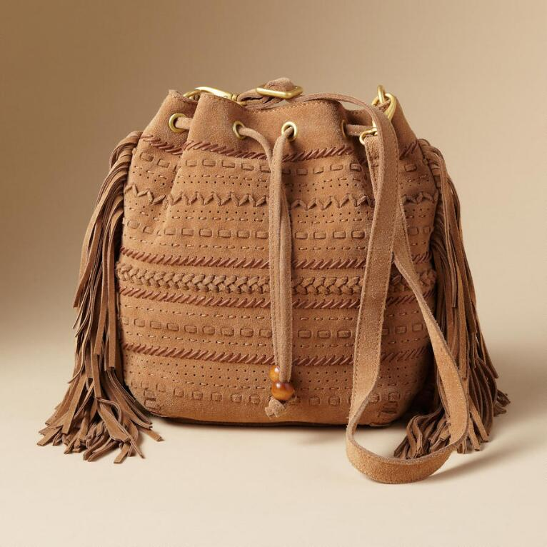 MONIKA FRINGED BAG