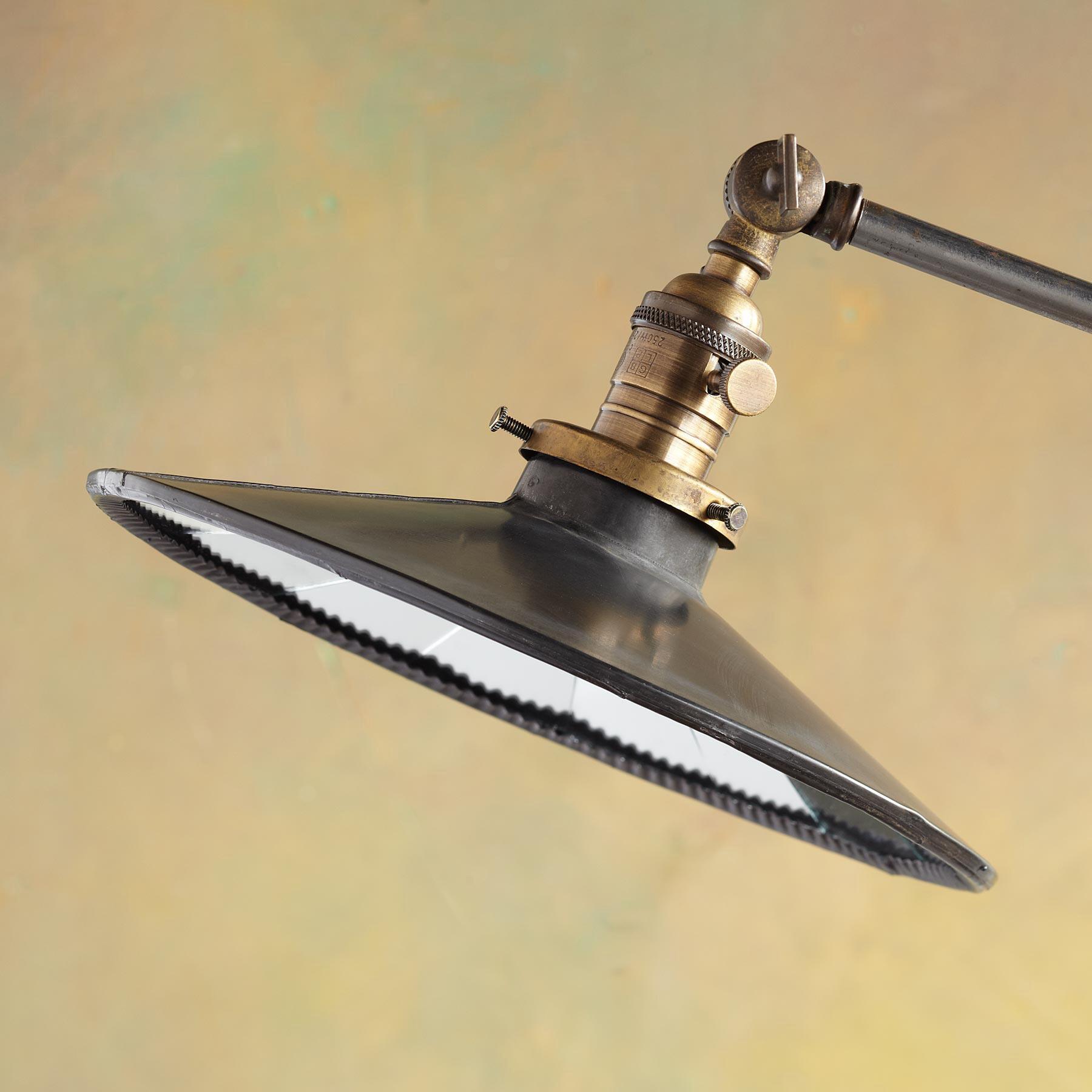 MIRRORED SHADE LAMP: View 2