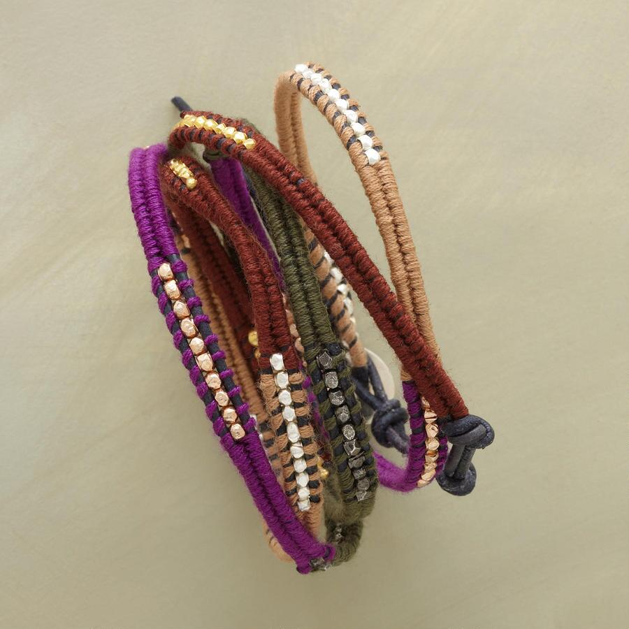 SPICE OF LIFE WRAP BRACELET