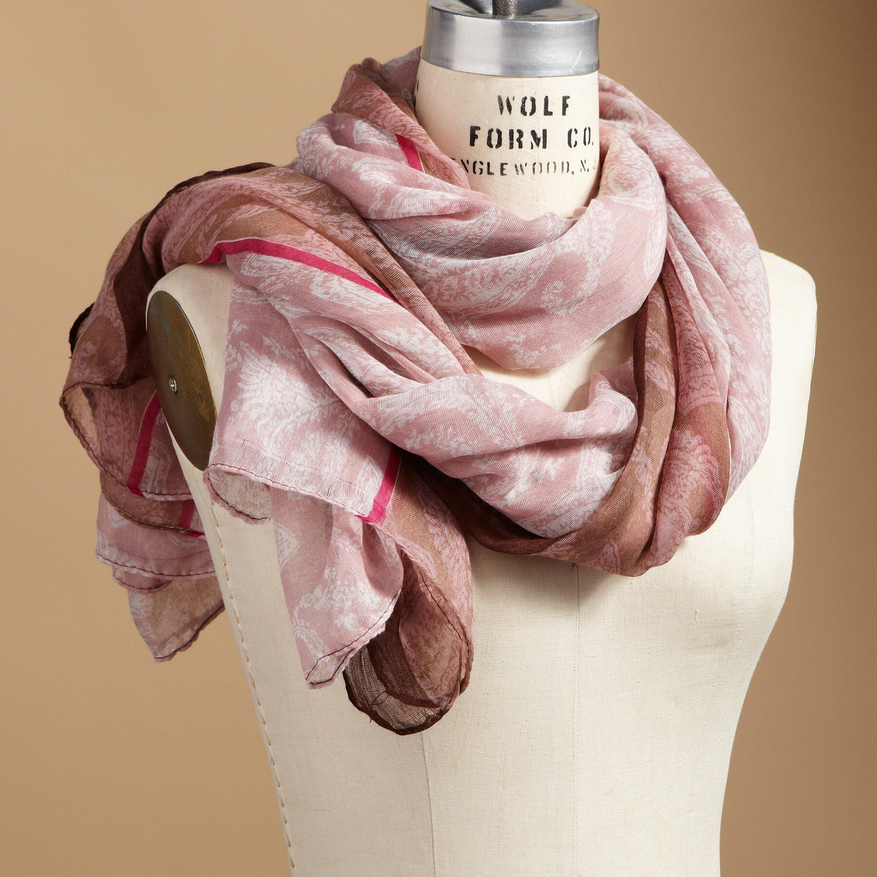 PALEST PAISLEY SCARF: View 1