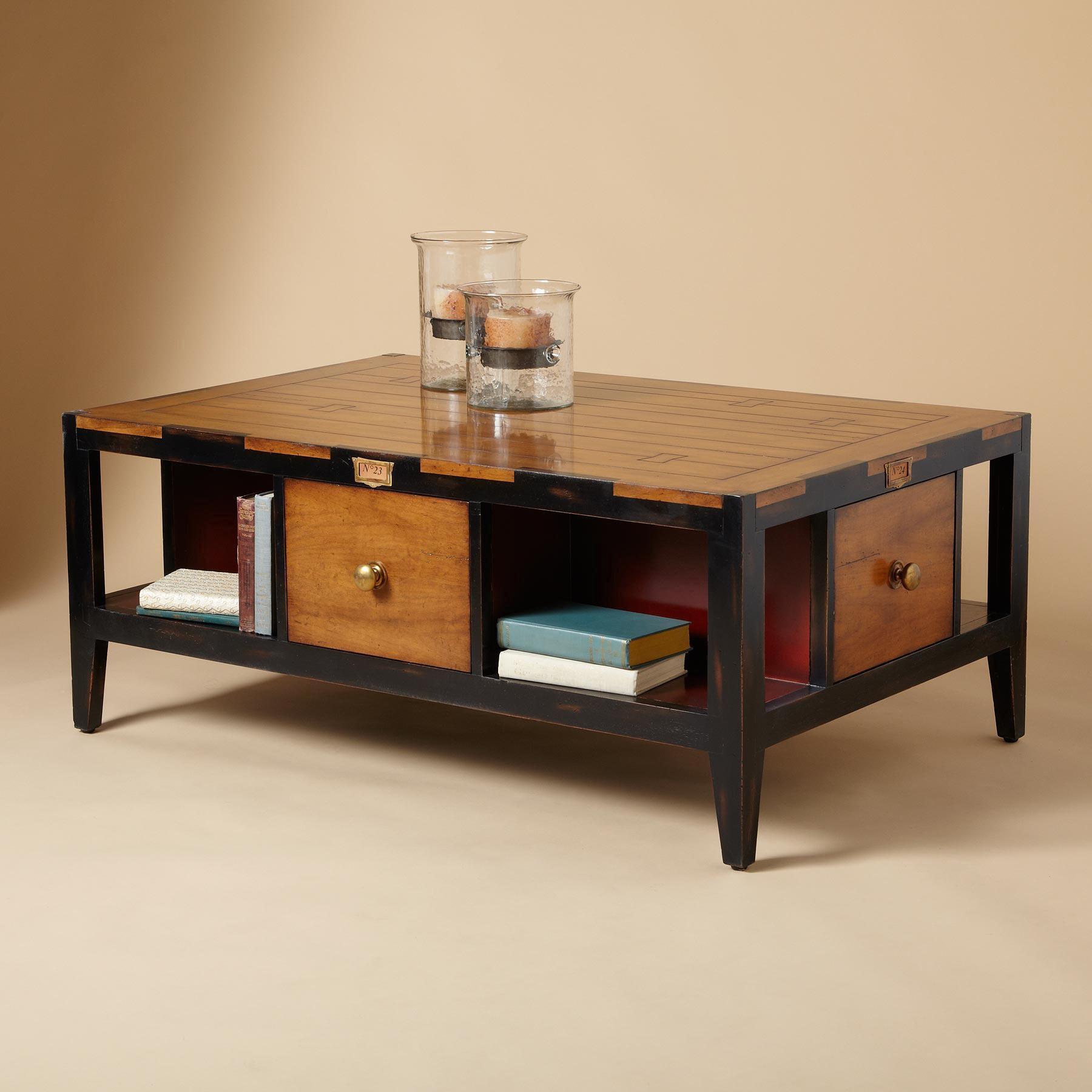 DRAPER COFFEE TABLE: View 4