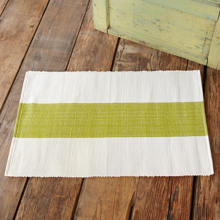 LAKESIDE STRIPE INDOOR/OUTDOOR MAT