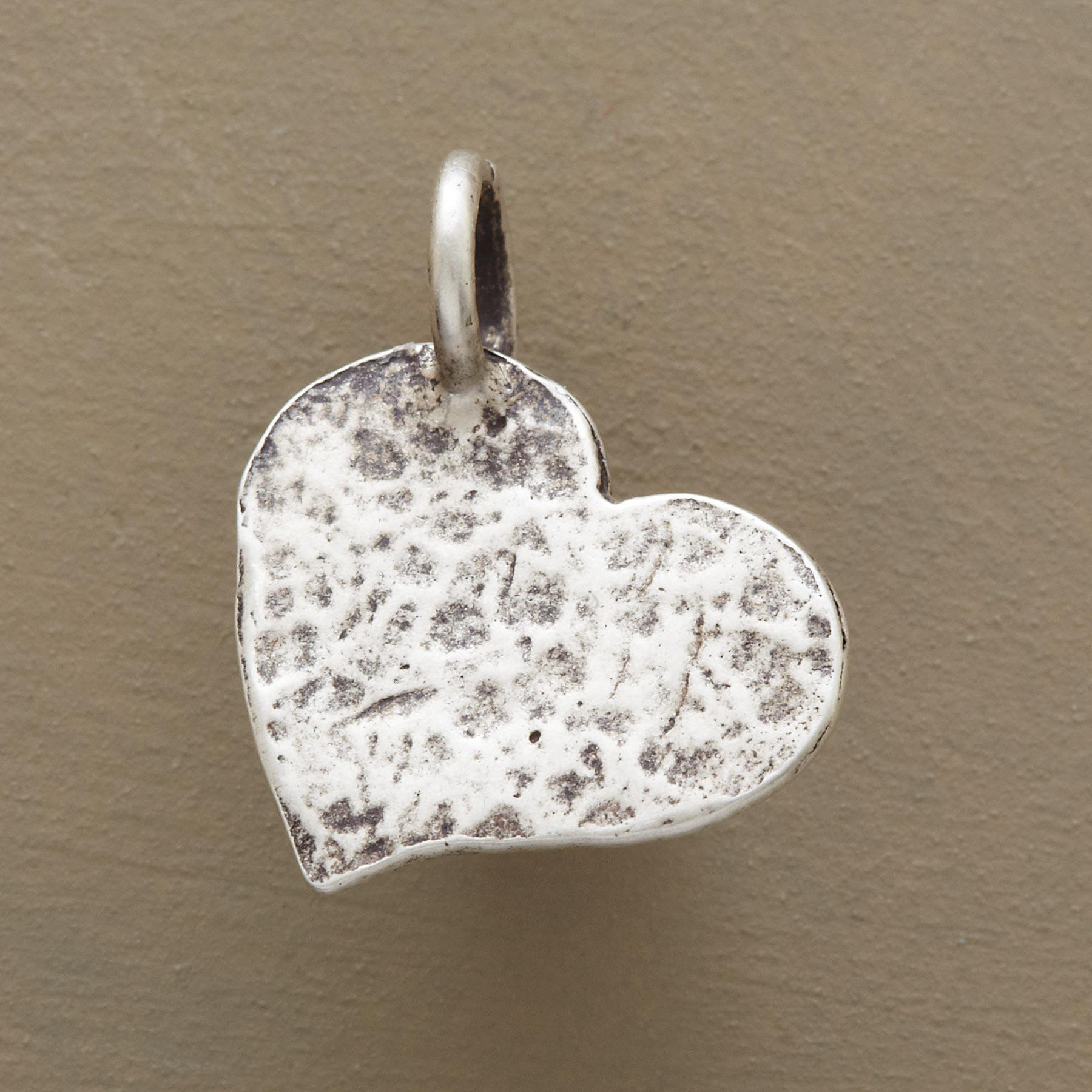 STERLING SILVER HAMMERED INSPIRATIONAL CHARMS: View 1