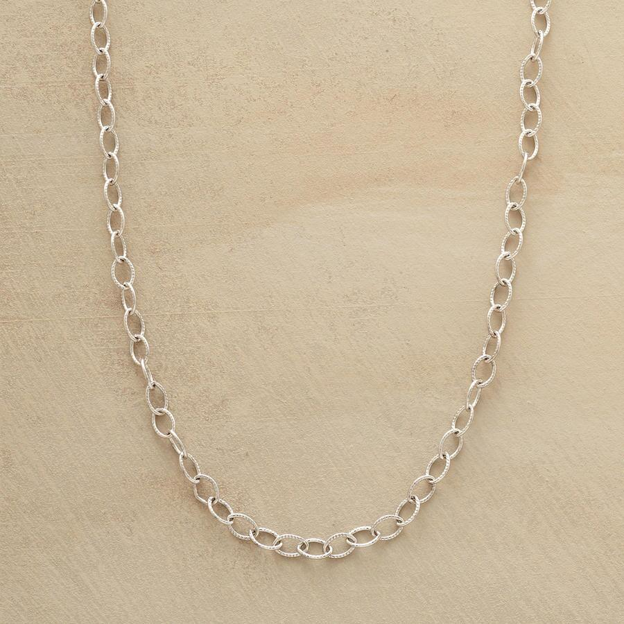 STERLING SILVER CHARMHOLDER CHAIN