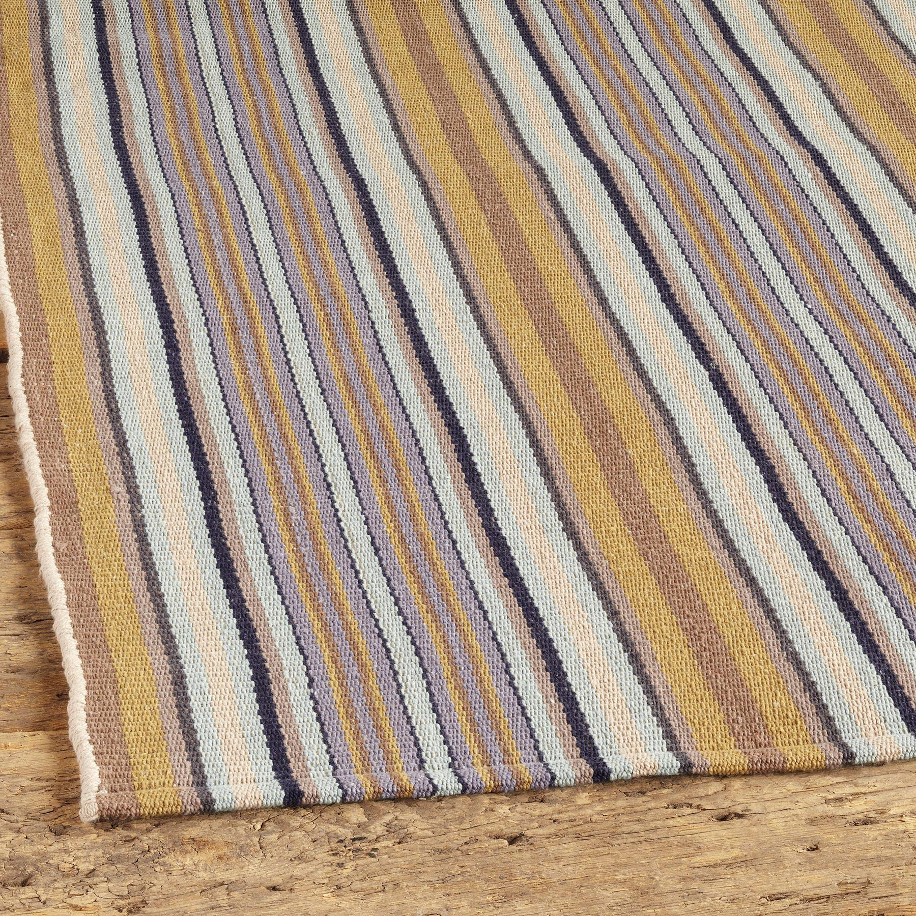 TREEHOUSE STRIPE LOOMED RUG, LARGE: View 2