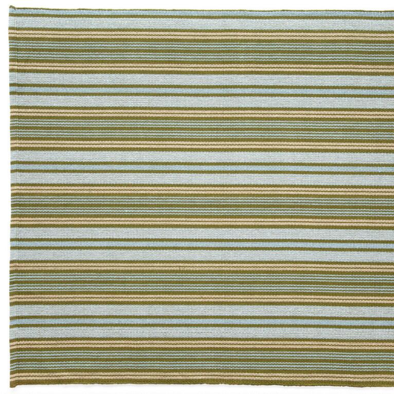 CARAVAN STRIPE COTTON MAT, LARGE