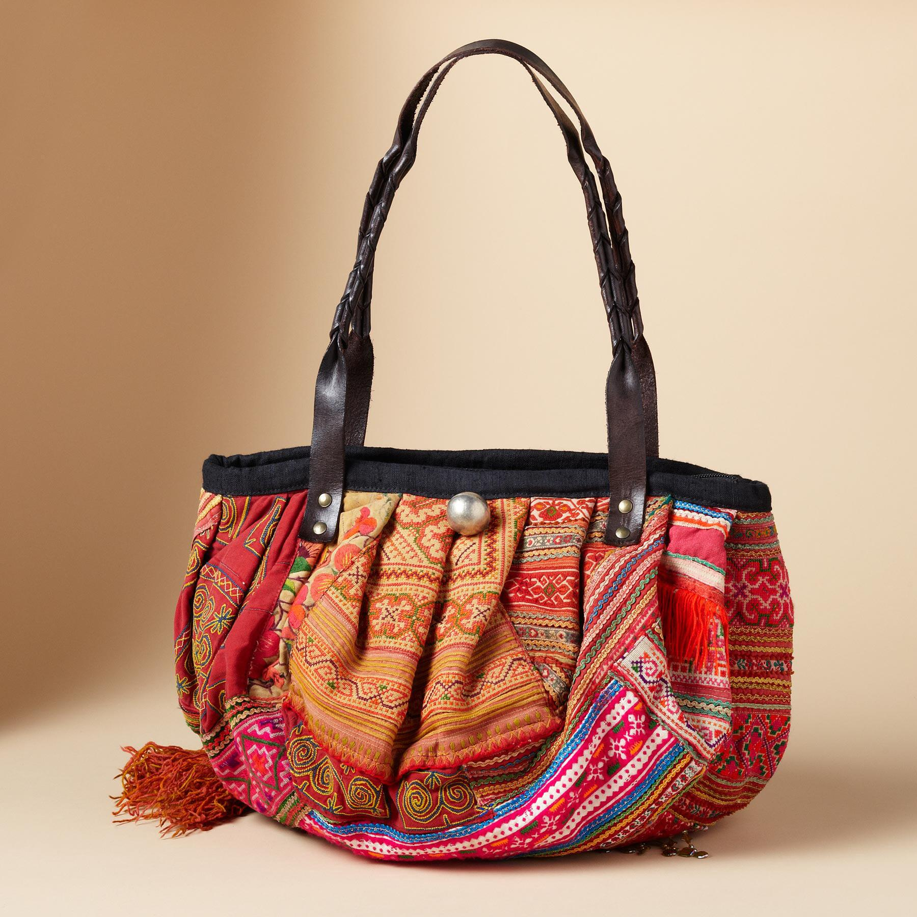 ONE-OF-KIND HILL TRIBE BAG: View 1