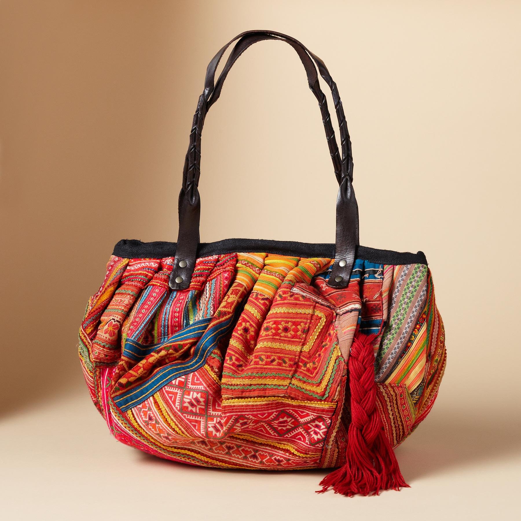 ONE-OF-KIND HILL TRIBE BAG: View 2