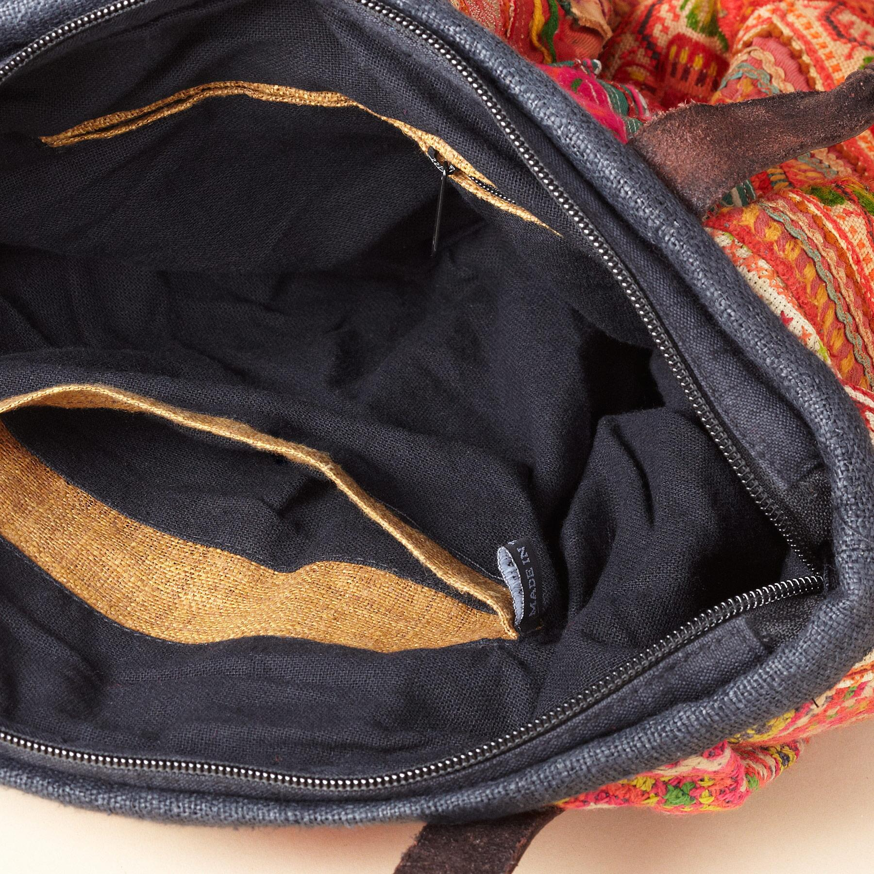 ONE-OF-KIND HILL TRIBE BAG: View 3