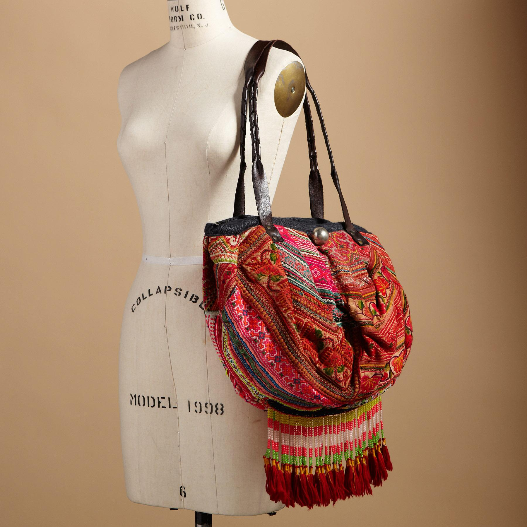ONE-OF-KIND HILL TRIBE BAG: View 4
