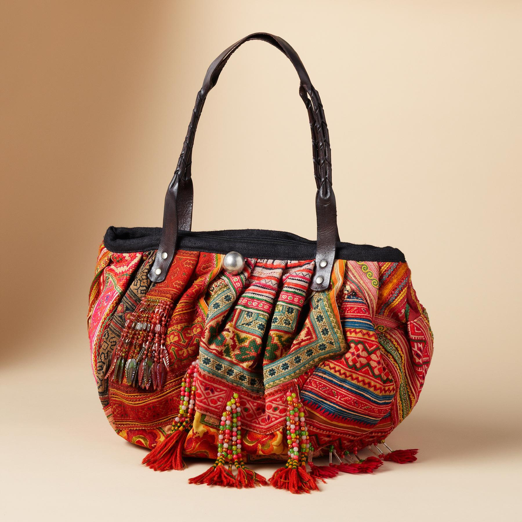ONE-OF-KIND HILL TRIBE BAG: View 5