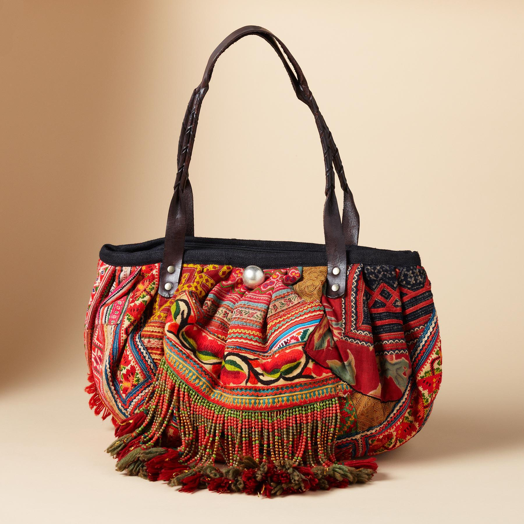 ONE-OF-KIND HILL TRIBE BAG: View 6