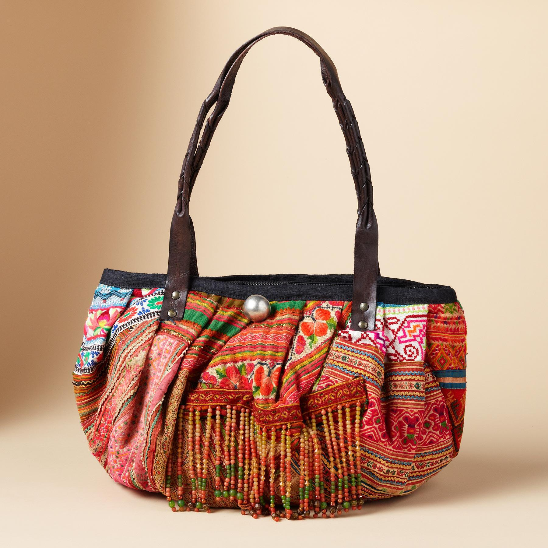 ONE-OF-KIND HILL TRIBE BAG: View 7