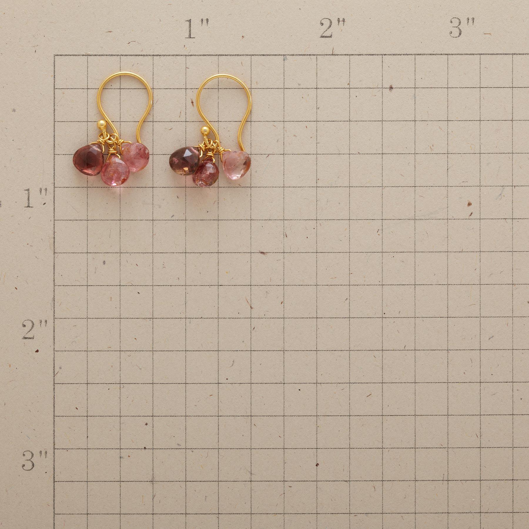 PINK RAIN EARRINGS: View 2