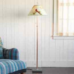 RED BIRD FLOOR LAMP