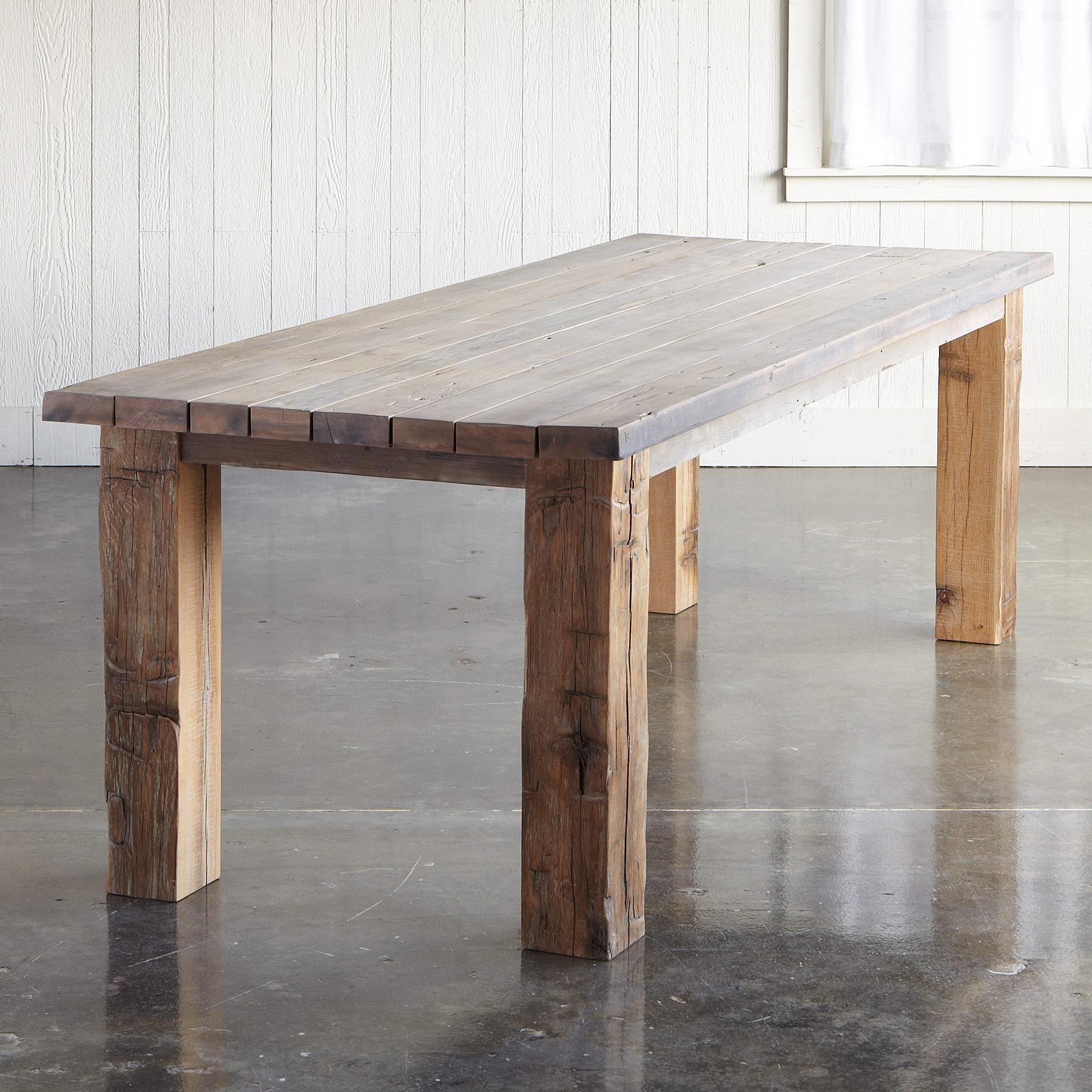 SALT & VINEGAR REDWOOD TABLE: View 2