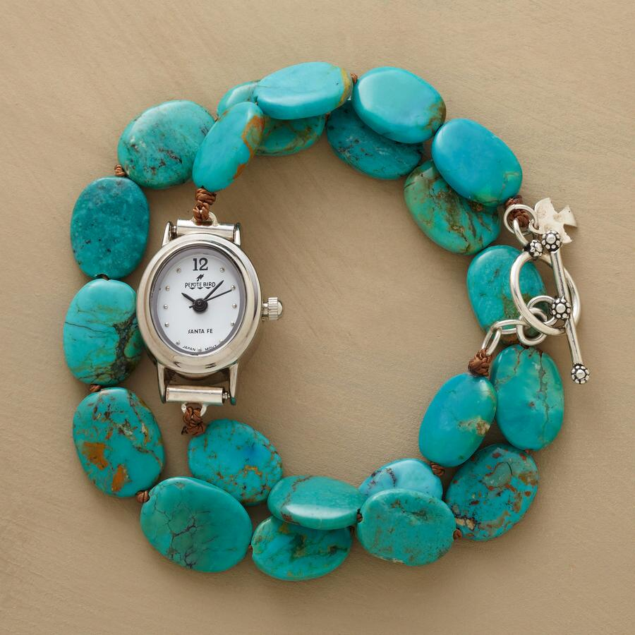 TURQUOISE WRAP WATCH