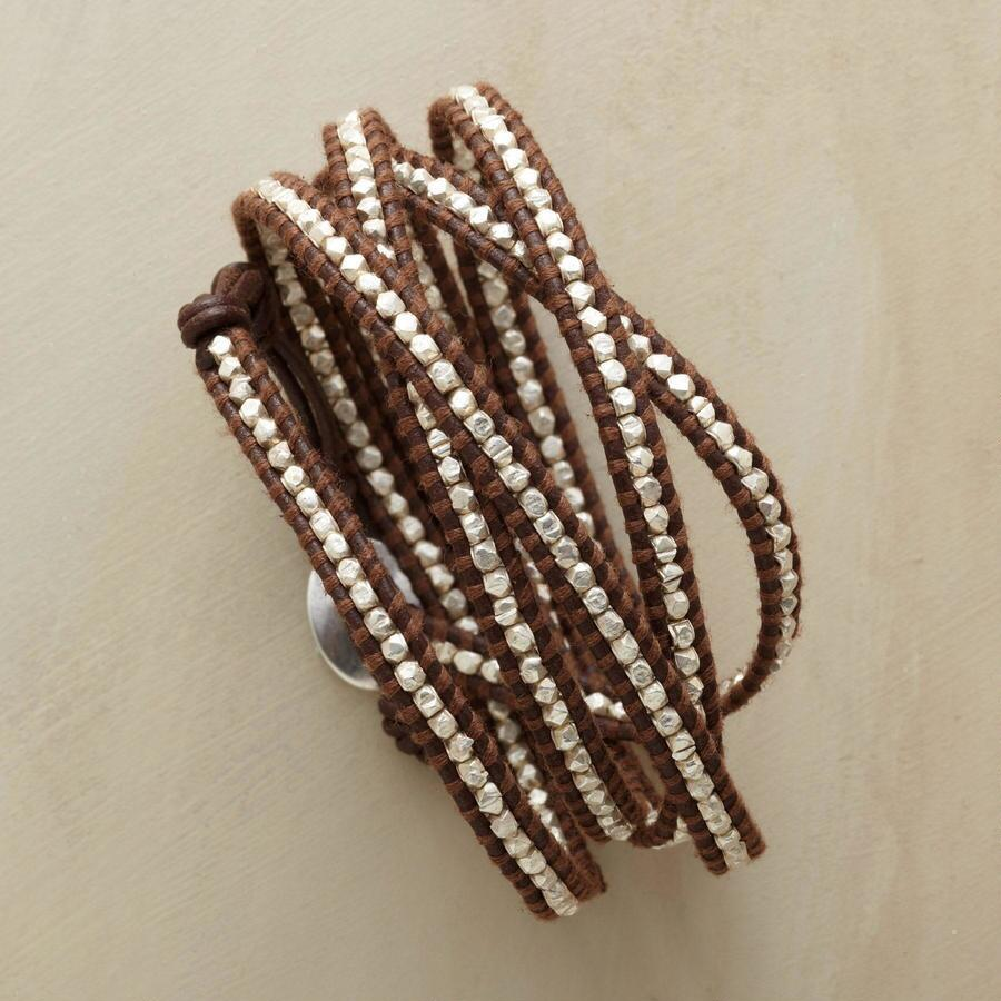 SILVERSTREAM 5 WRAP BRACELET