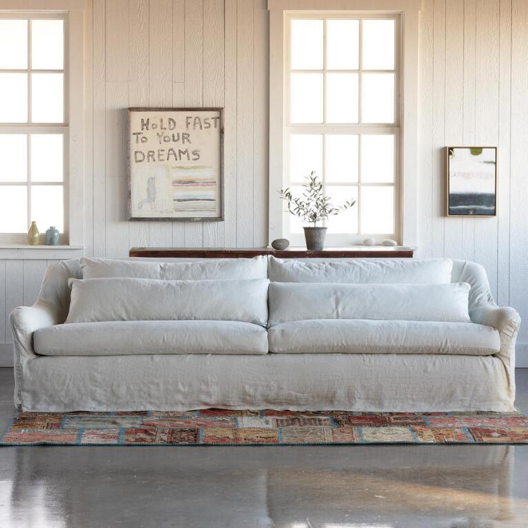 NOB HILL SLIPCOVER SOFA
