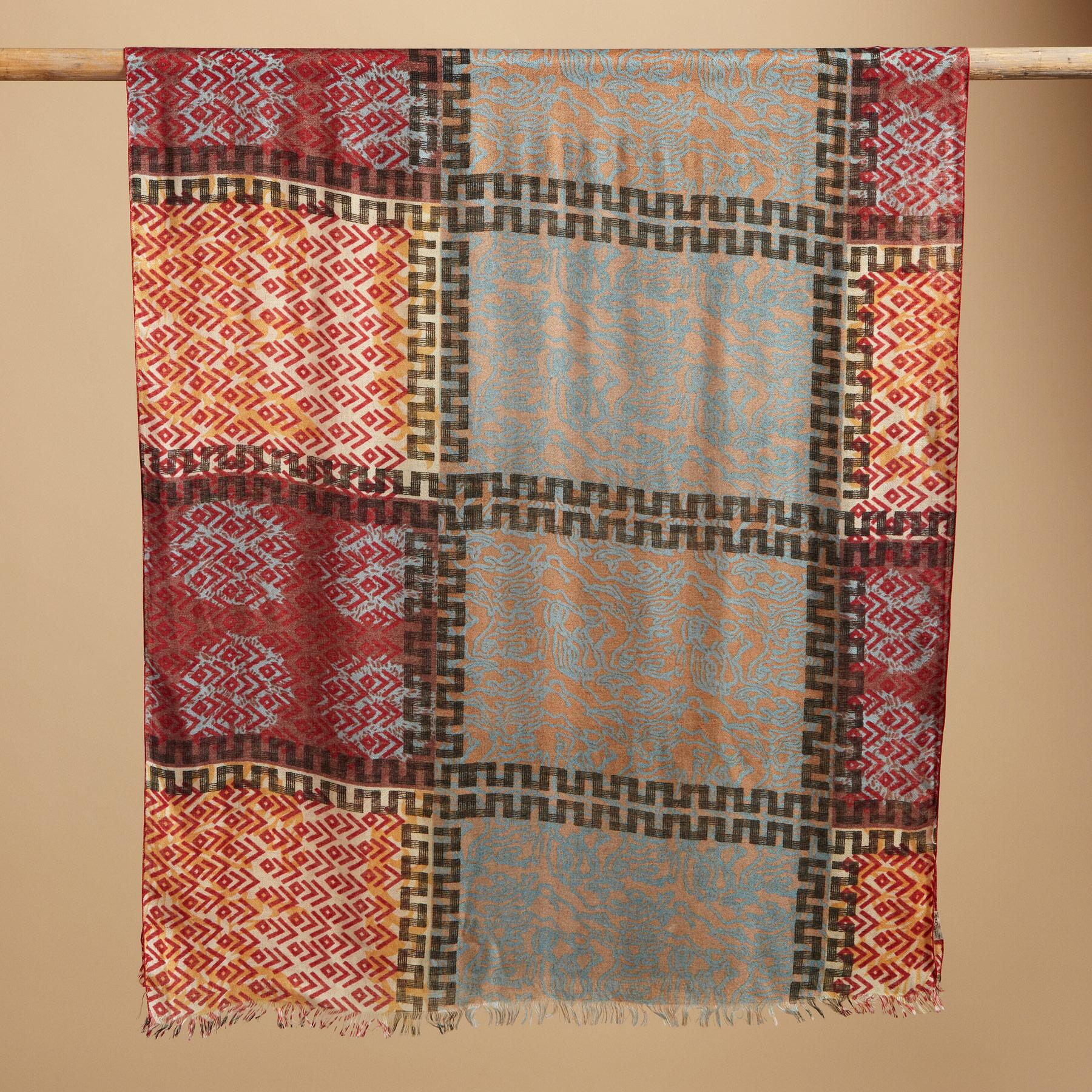 ENCHANTED TRIBAL SCARF: View 2