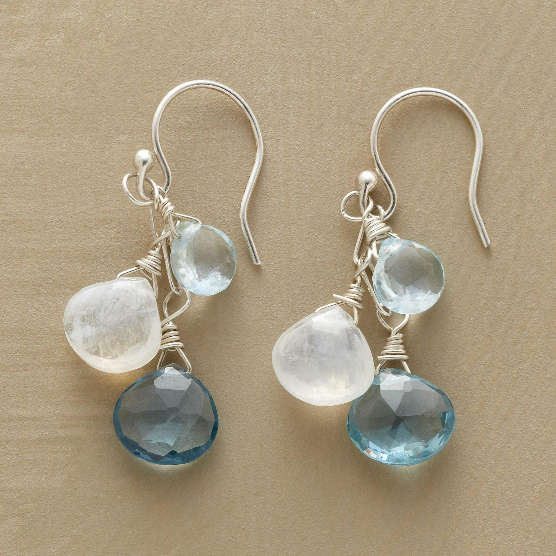 BLUE MOONLIGHT EARRINGS: View 1