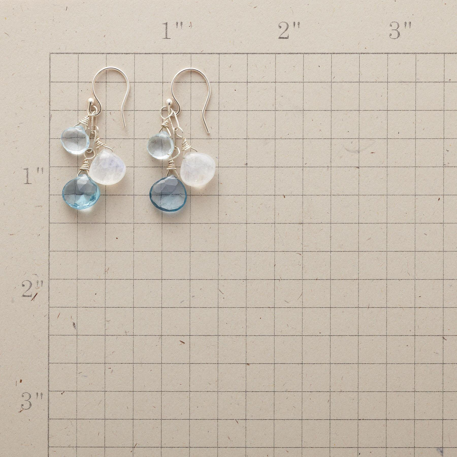 BLUE MOONLIGHT EARRINGS: View 2