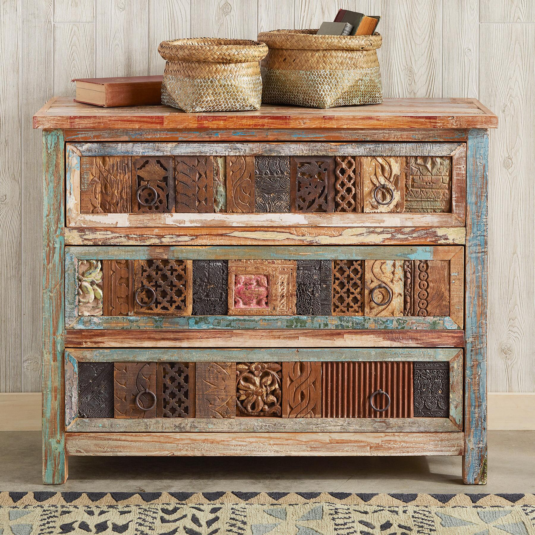 Collector's chest - Sundance Catalog Home Decor + A Few of My Artisan Favorite Things!