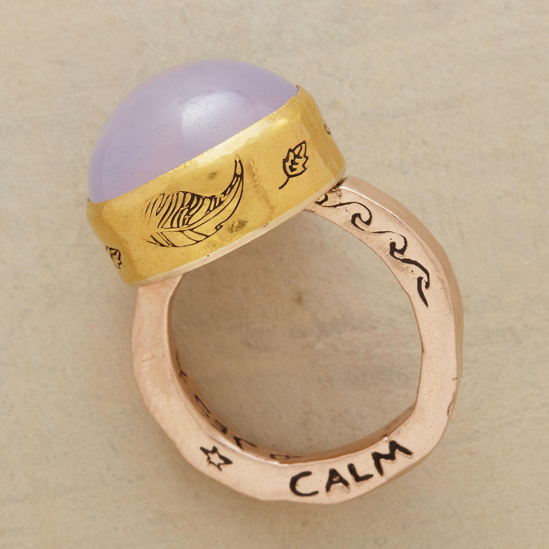 PEACE & FREEDOM RING: View 2