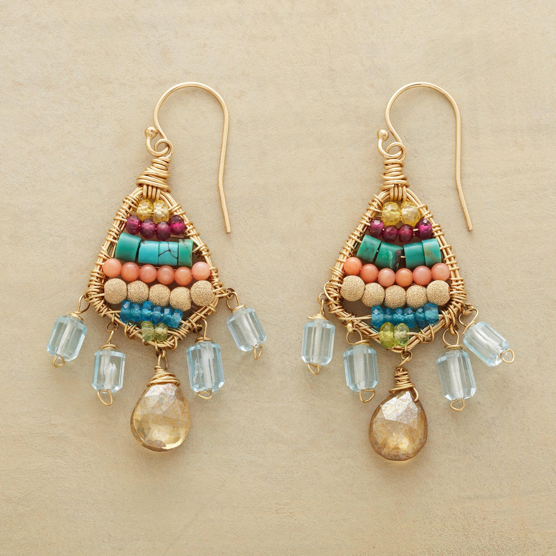 BAZAAR BOUNTY EARRINGS: View 1