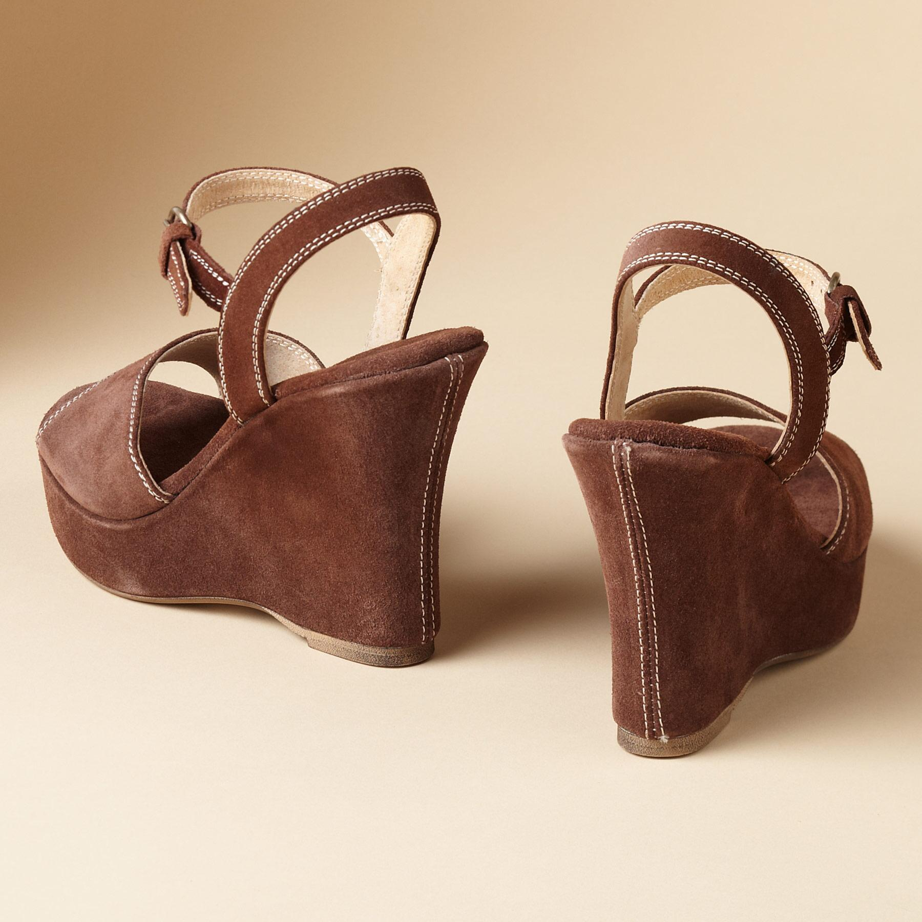 GRETA WEDGE SANDALS: View 2