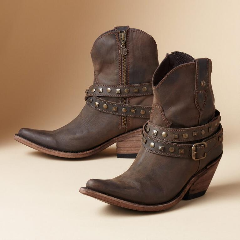 CONVERTIBLE BUCKLE BOOTS