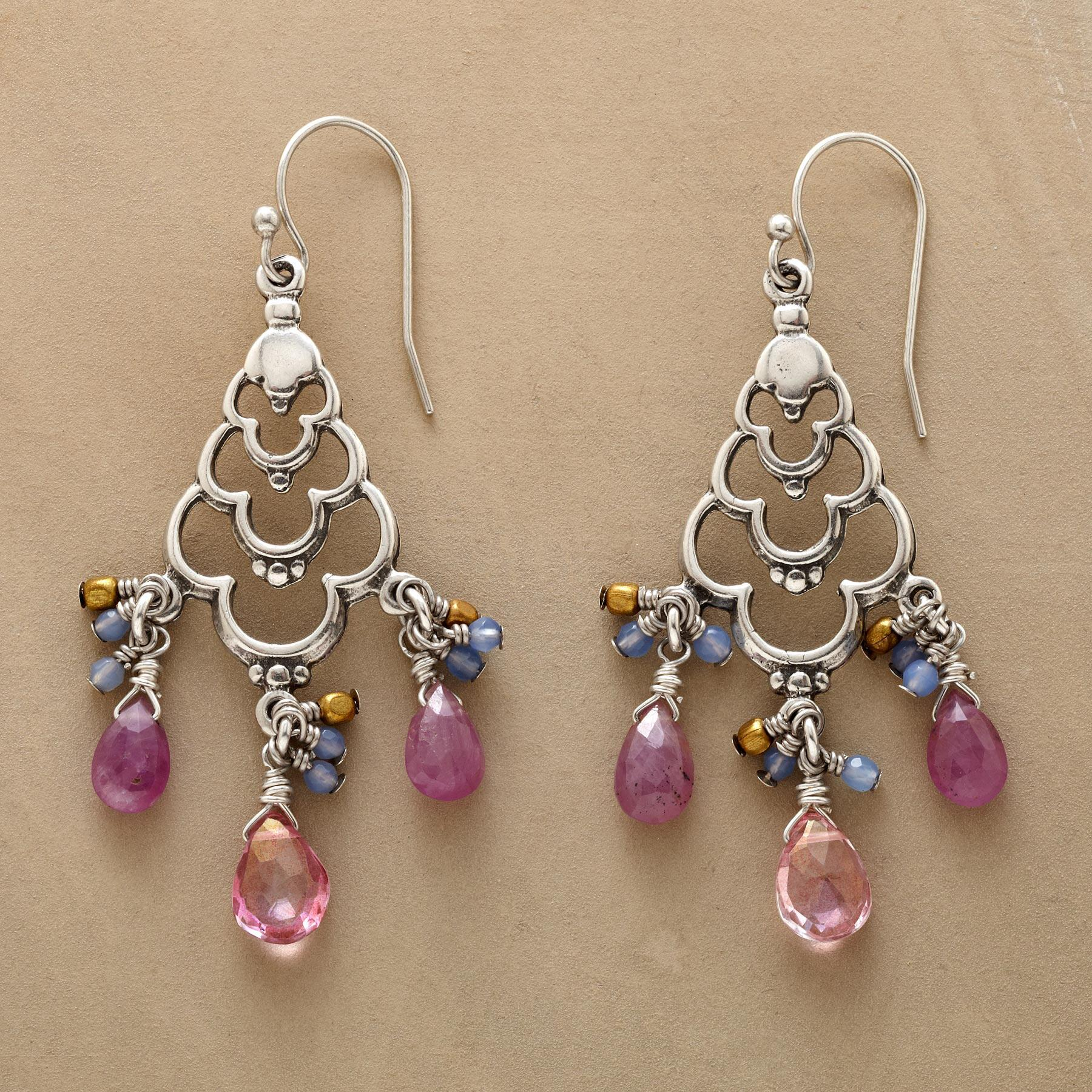 LOTUS CHANDELIER EARRINGS: View 1