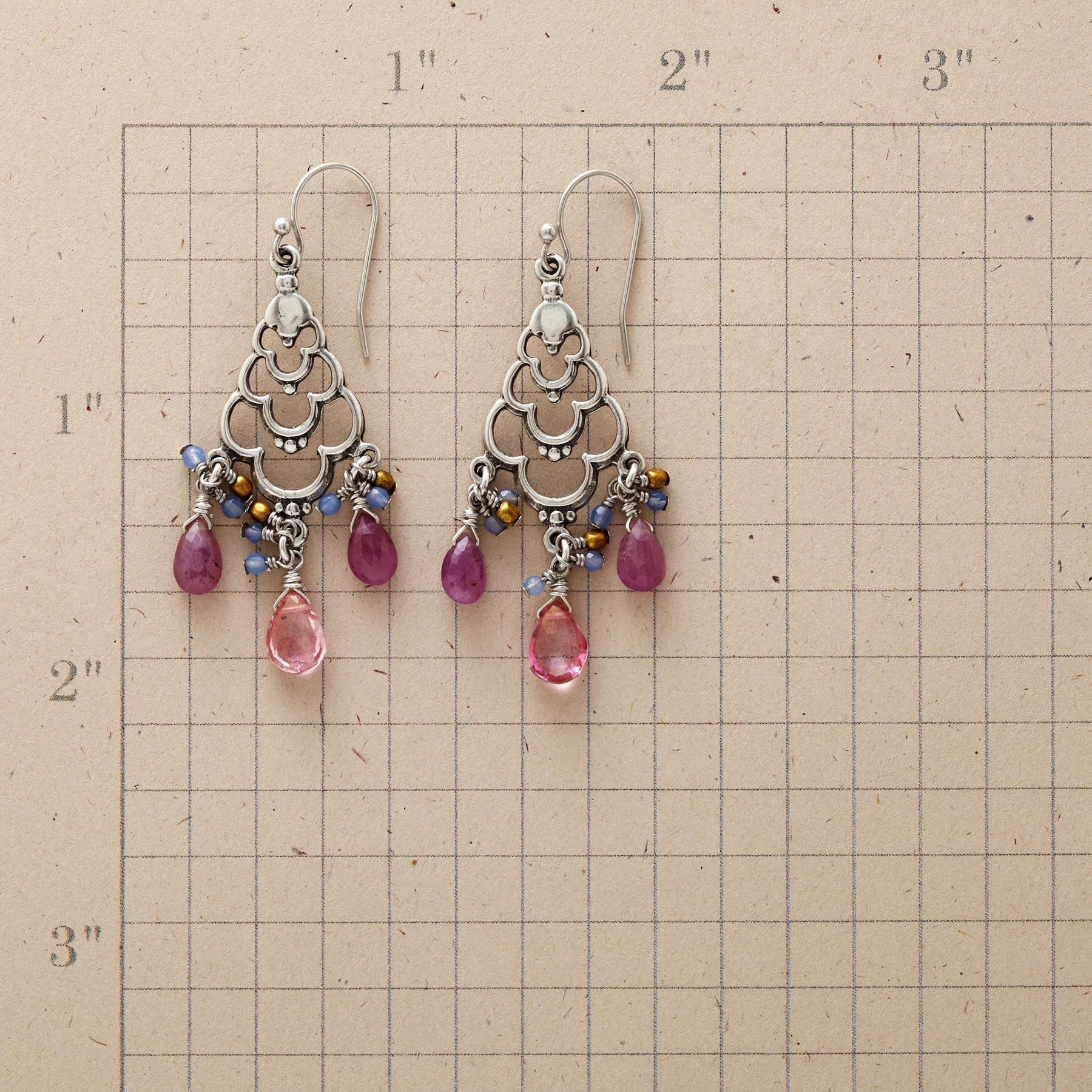 LOTUS CHANDELIER EARRINGS: View 2