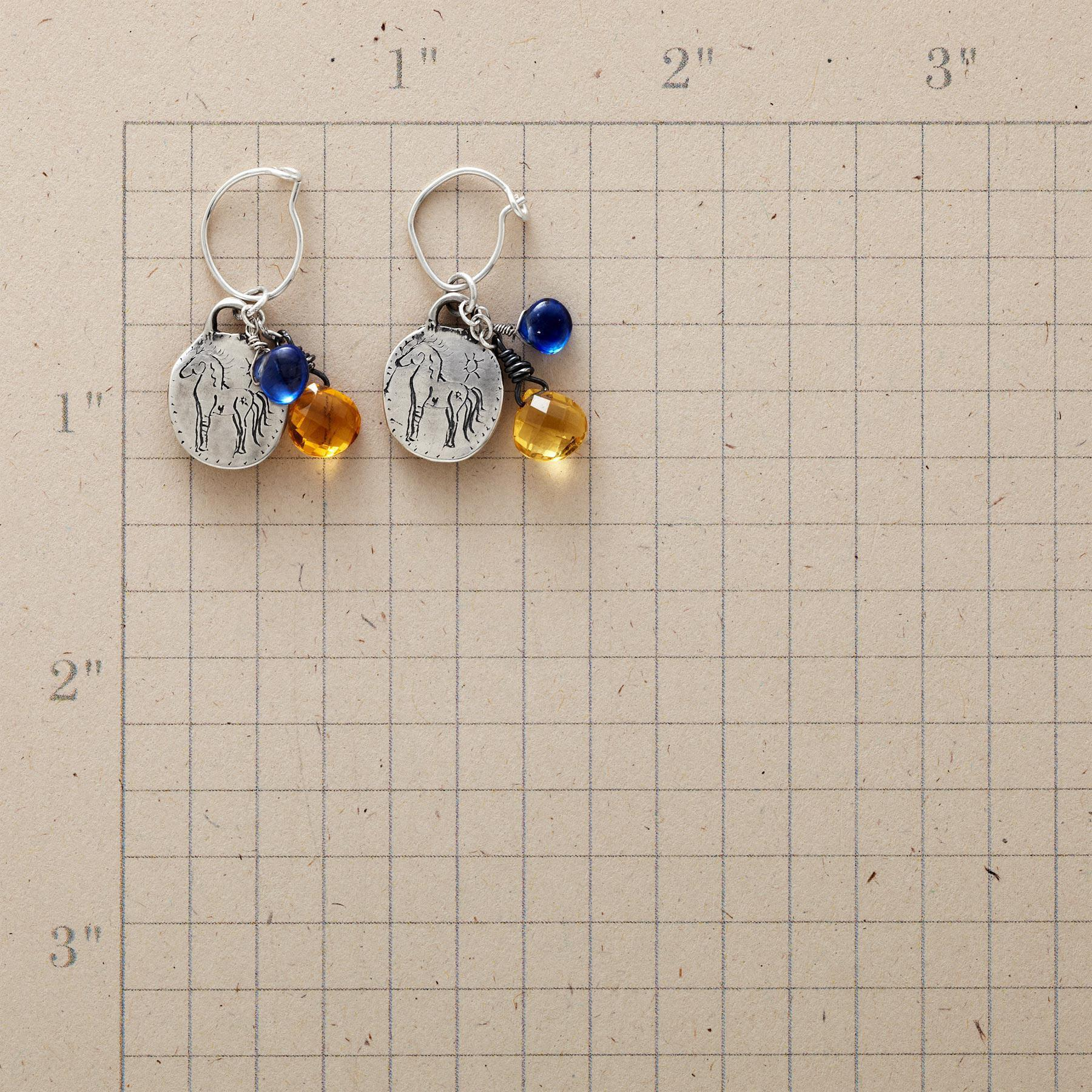 SUNSHINE AND BLUE SKIES EARRINGS: View 2