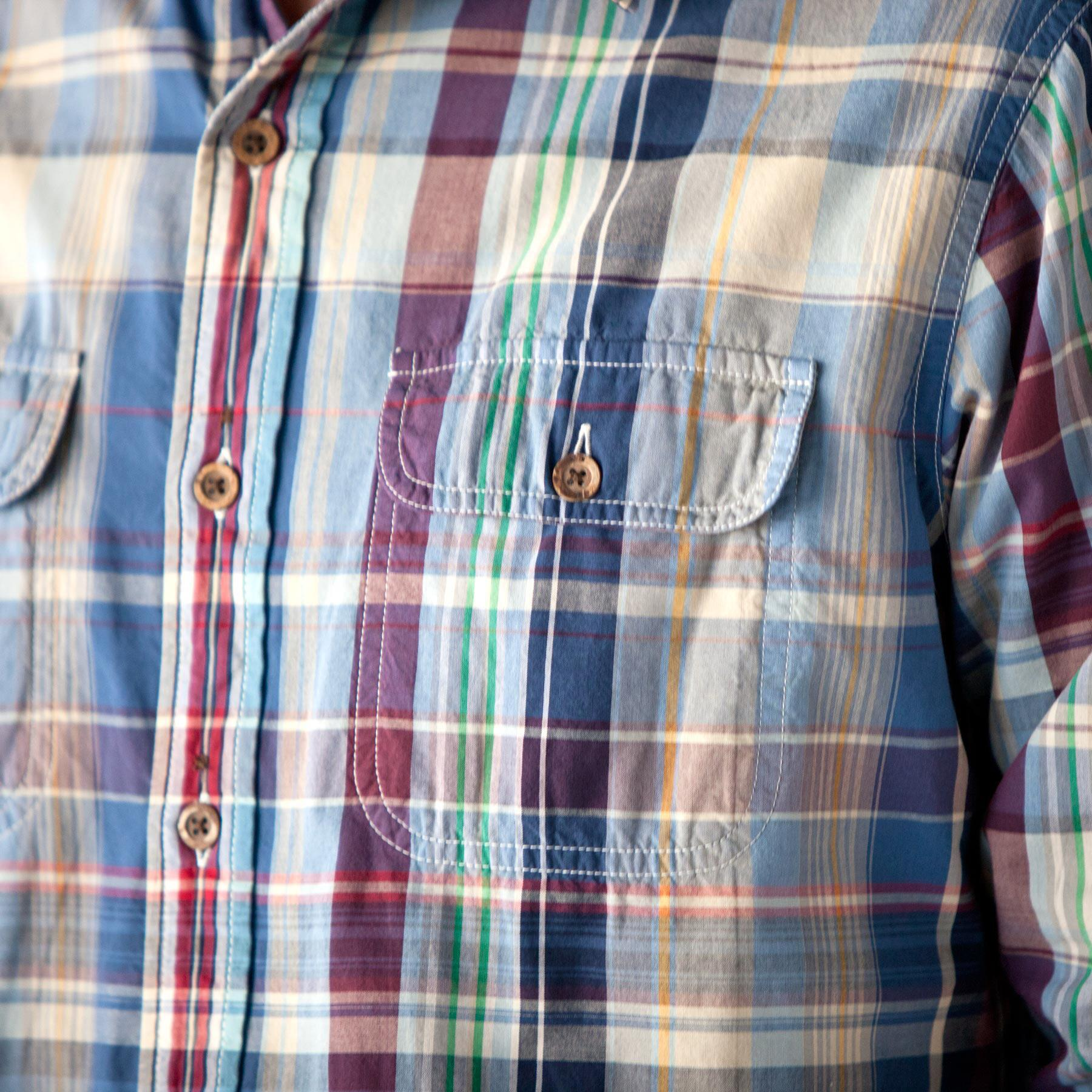 NEW ENGLAND PLAID REVERSIBLE SHIRT: View 2