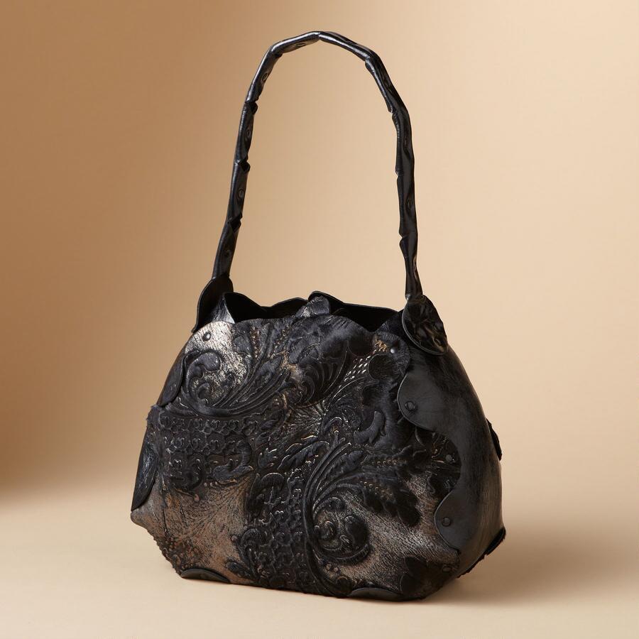 FLOURISHED BURNOUT BAG BY CYDWOQ