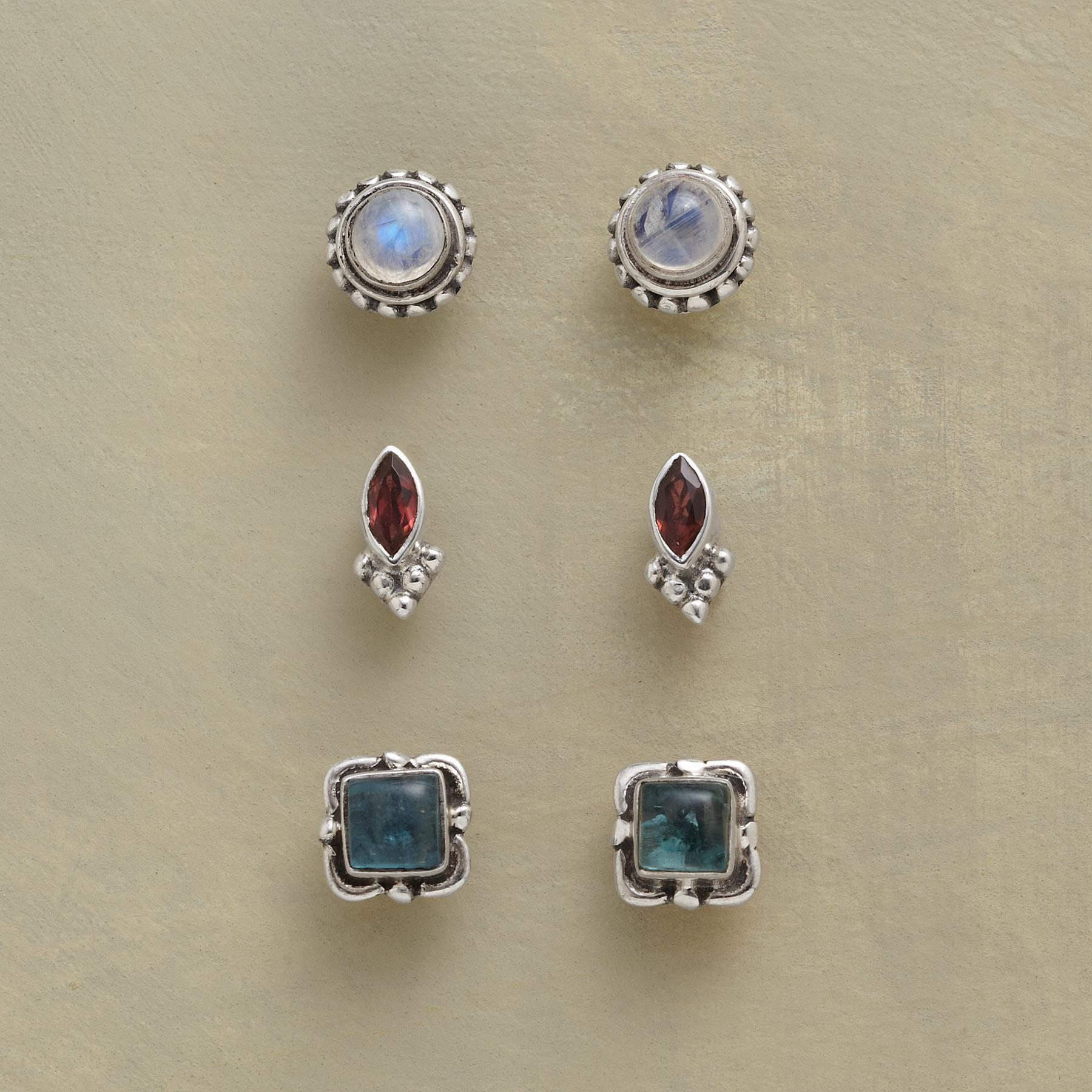 OLD GLORY EARRING TRIO: View 1