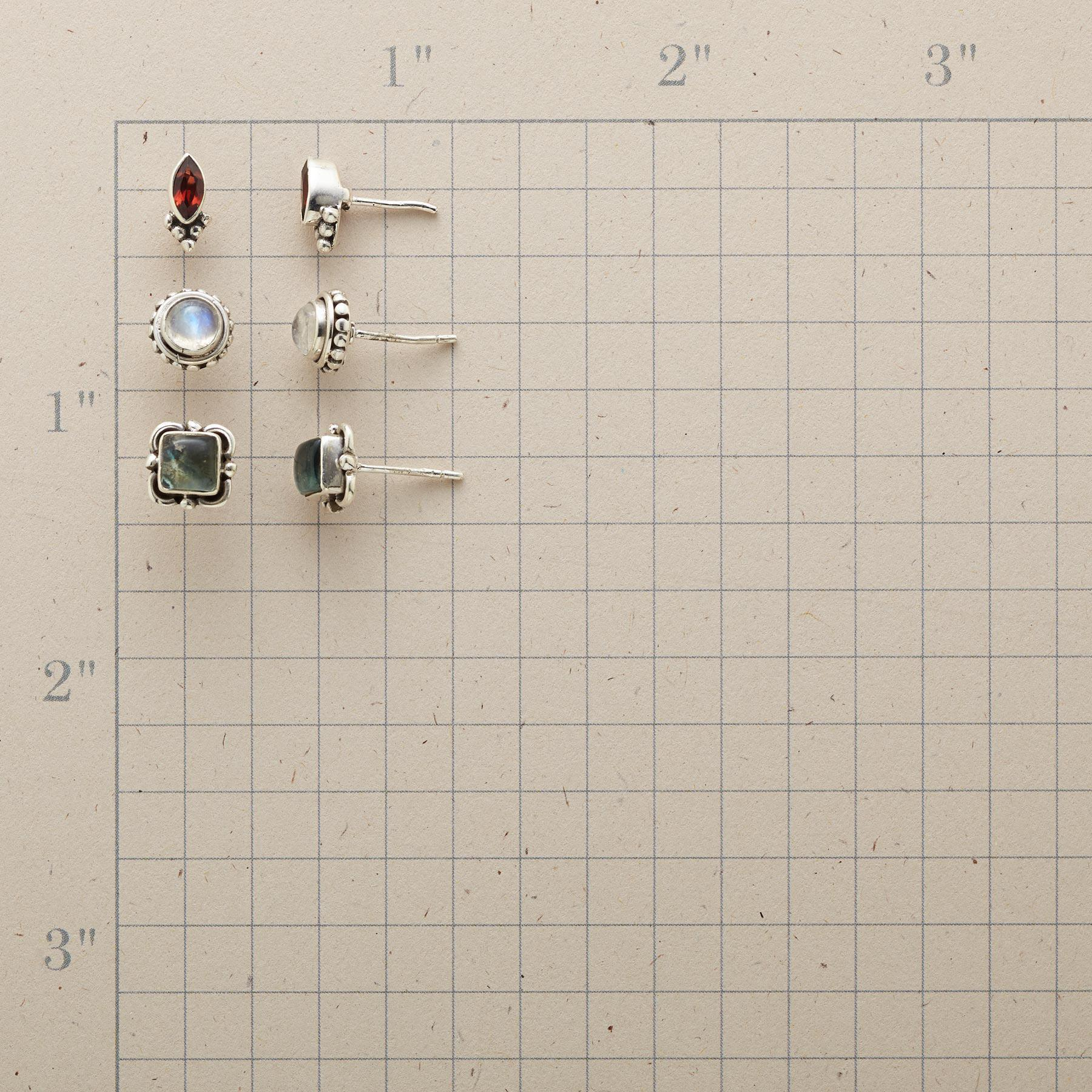 OLD GLORY EARRING TRIO: View 2
