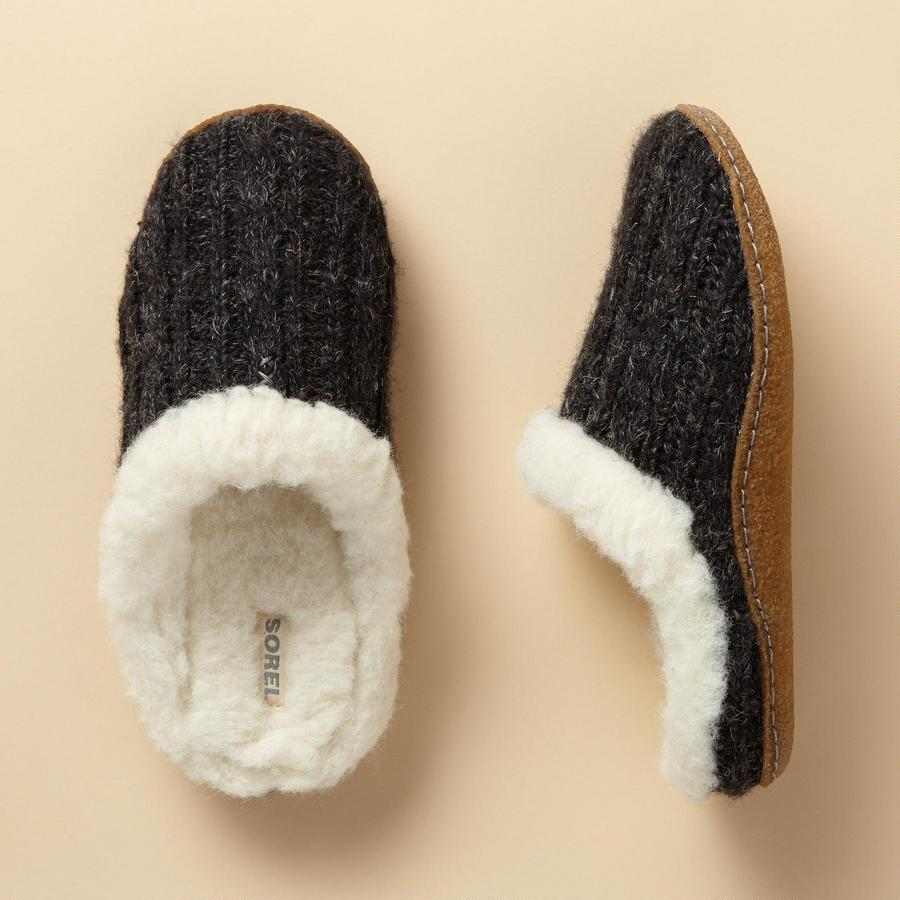 NAKISKA KNIT SLIDES BY SOREL