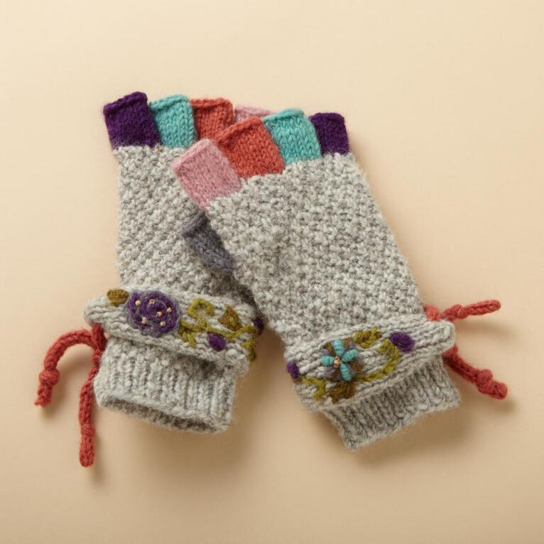 HIGH FIVE FINGERLESS GLOVES