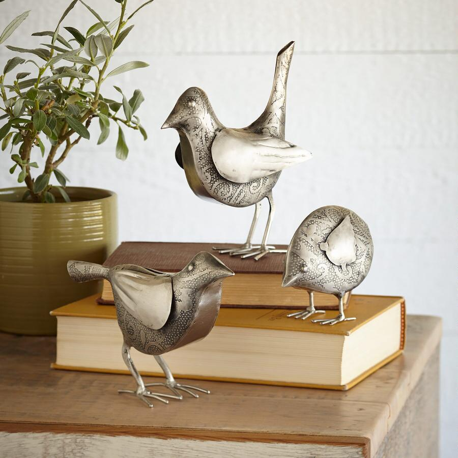FLOCK OF FRIENDS, SET OF 3