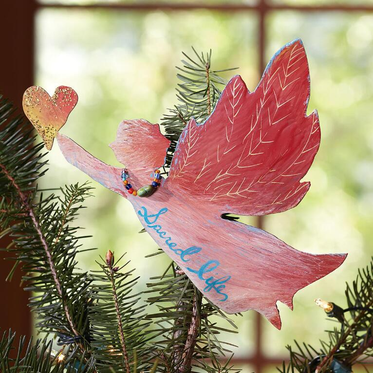 ARTISAN ANGEL TREE TOPPER
