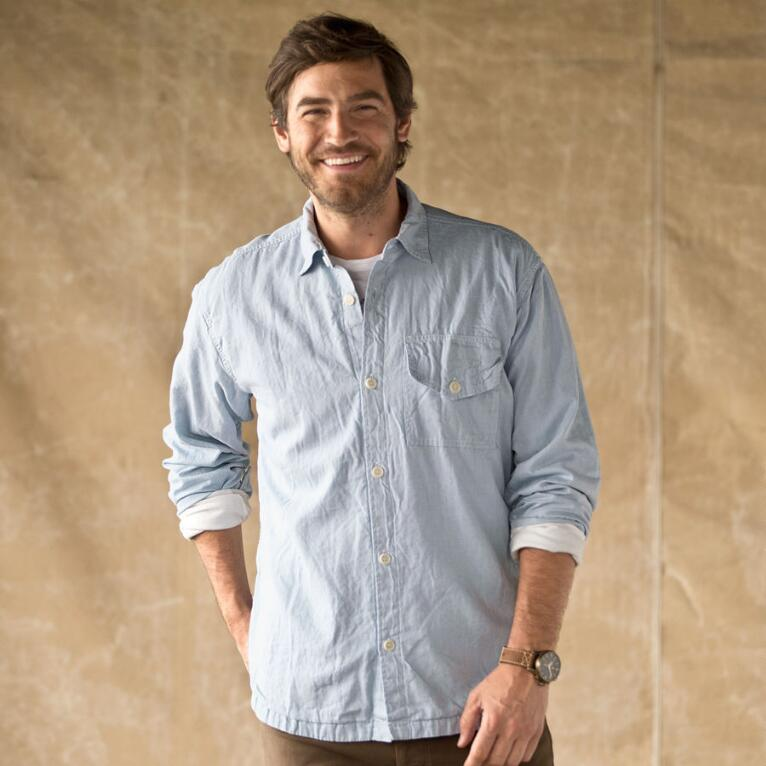 CLANDESTINE CHAMBRAY SHIRT