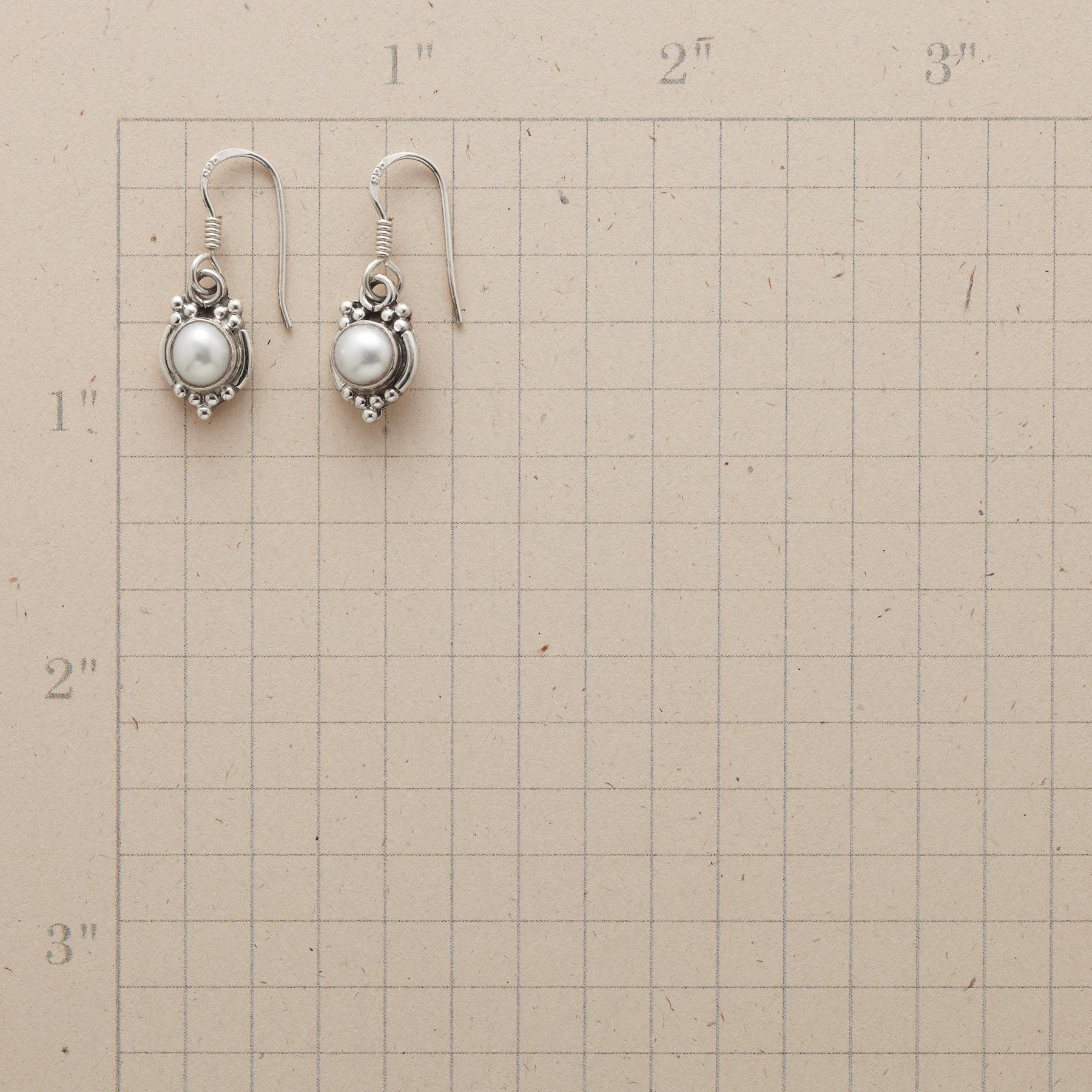 MIRROR PEARL EARRINGS: View 2