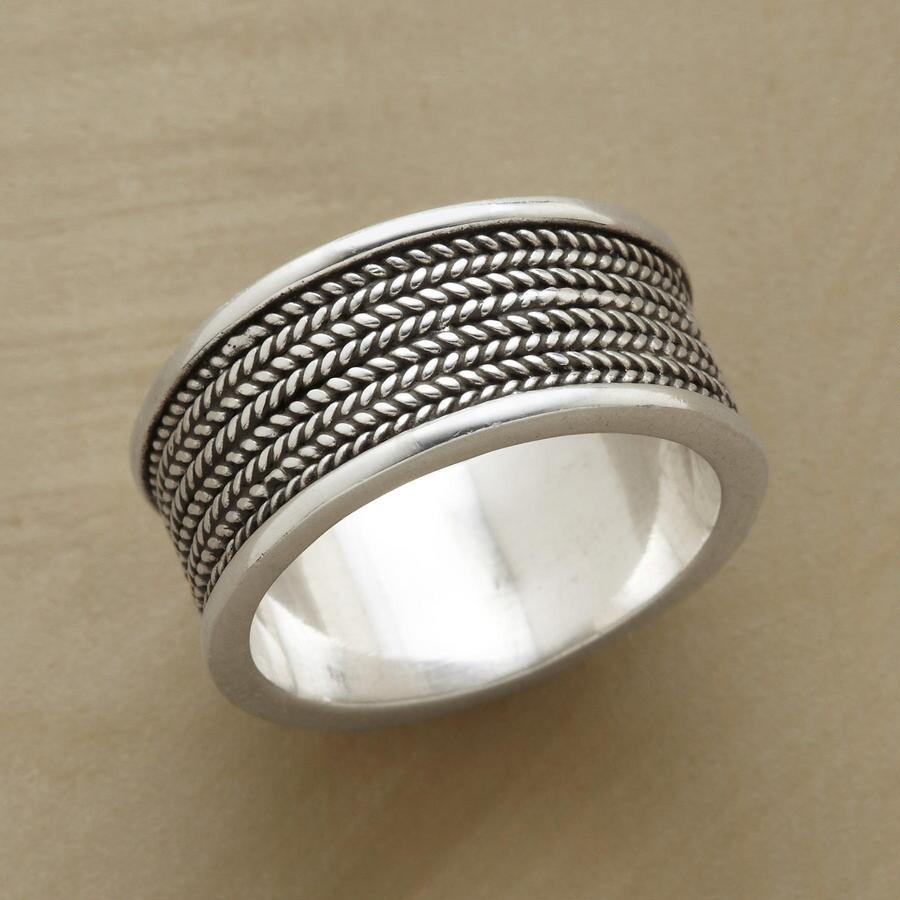STERLING COIL RING