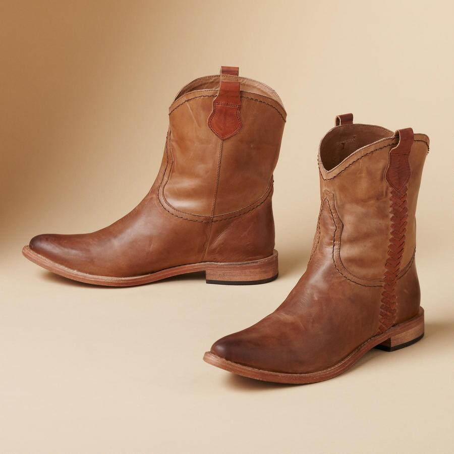 CASSIE SHORT BOOTS BY LUCCHESE