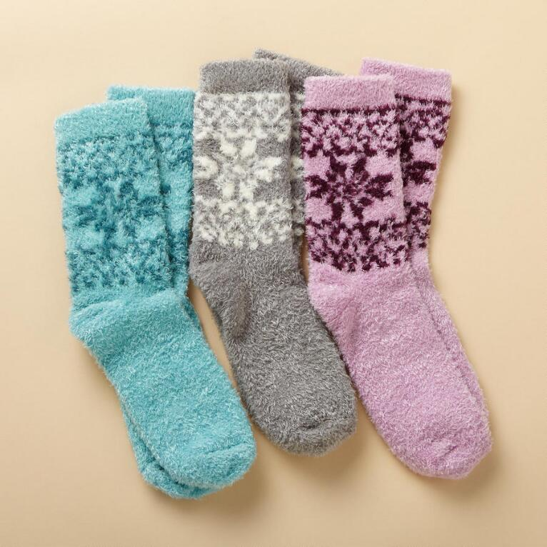 FEET TREAT SOCKS, SET OF 3